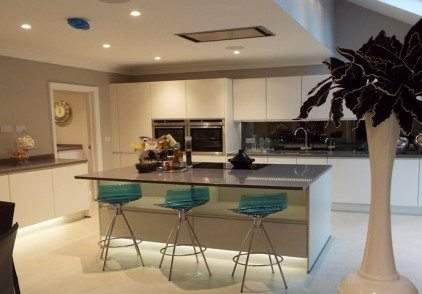 White Modern Kitchen – Rickmansworth, Herts
