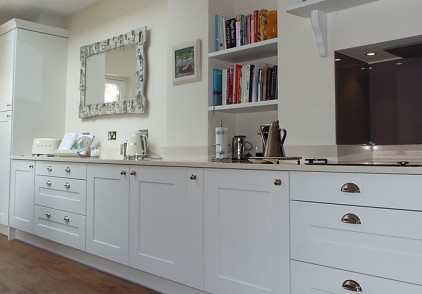 Tradtional Oak Burbidge Kitchen – Muswell Hill, London