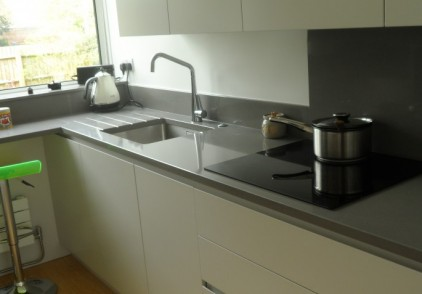 Bespoke lacquered kitchen – Marlow, Buckinghamshire