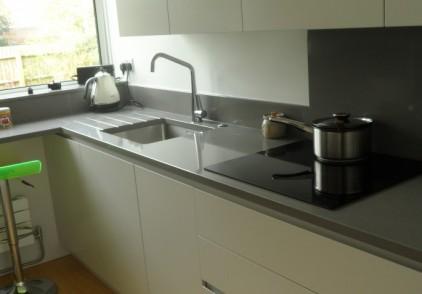 Bespoke lacquered kitchen – Marlow, Buckinghamshire
