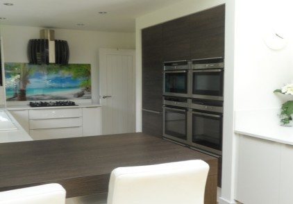Contemporary German Kitchen – Guildford, Surrey