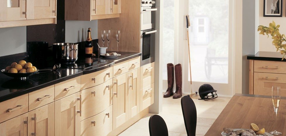 Landsdowne Natural Maple - a Classic, Solid Timber Kitchen