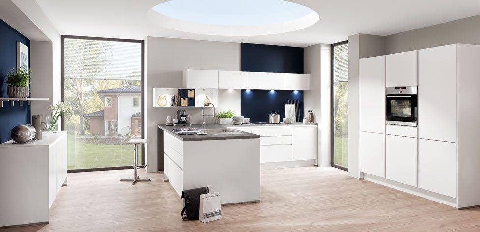 Nobilia Laser 416 White German Kitchen