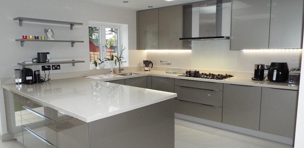 Nobilia Xeno - a customer kitchen in Hillingdon, Middlesex