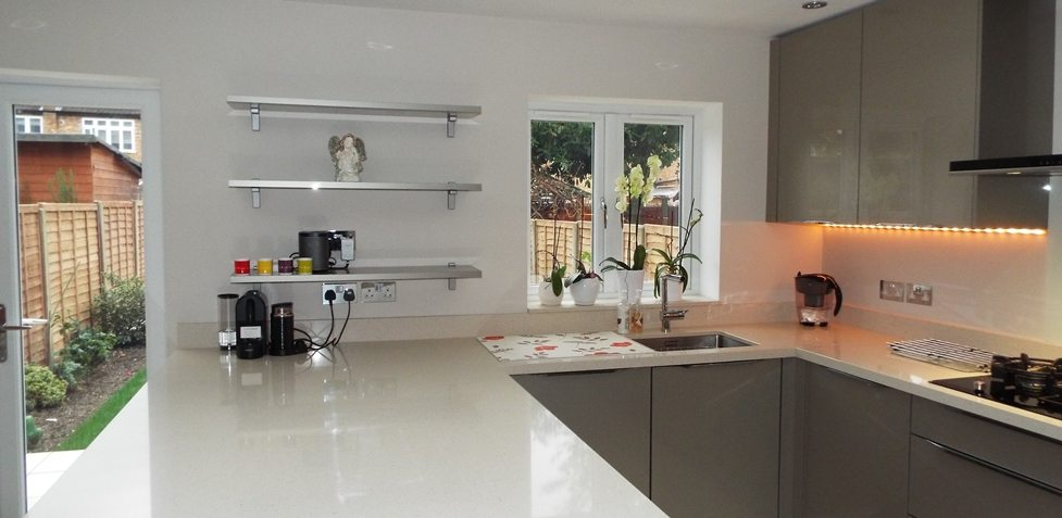 Nobilia Xeno - a customer kitchen in Hillingdon, Middlesex