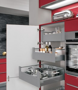 Nobilia Pull Out Larder Storage