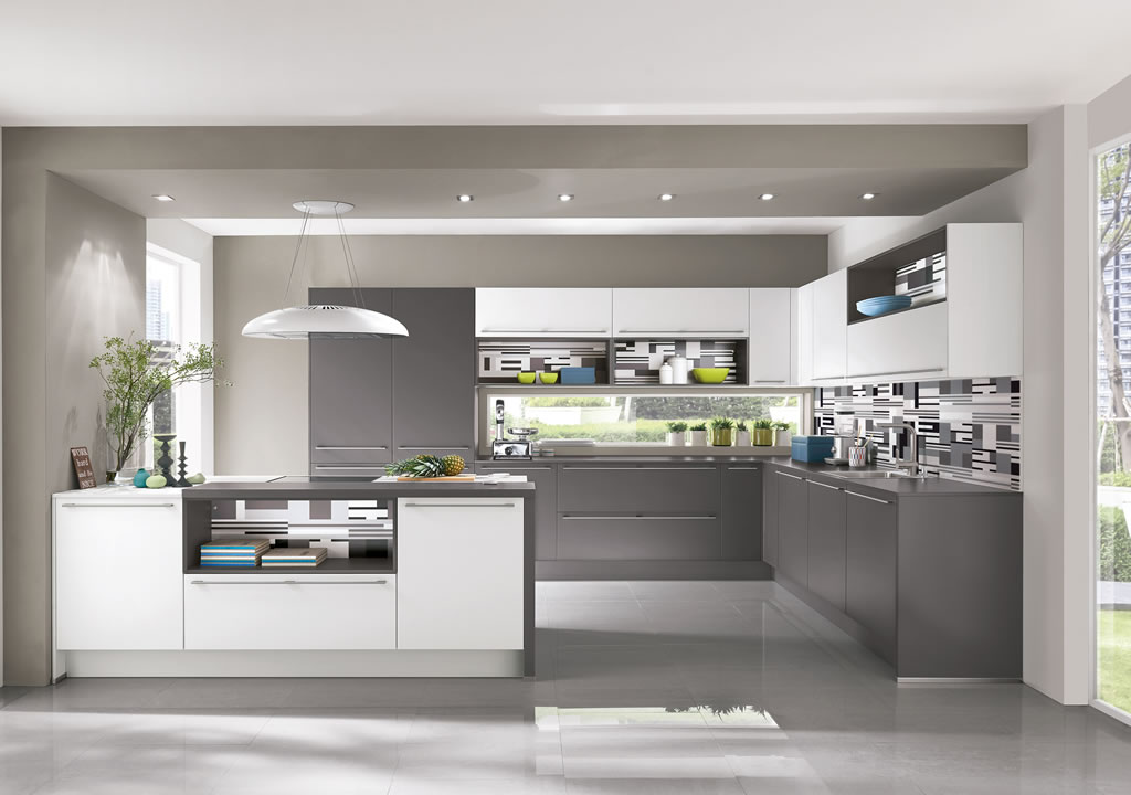 i home kitchens nobilia kitchens german kitchens nobilia touch 334 slate grey supermatt. Black Bedroom Furniture Sets. Home Design Ideas