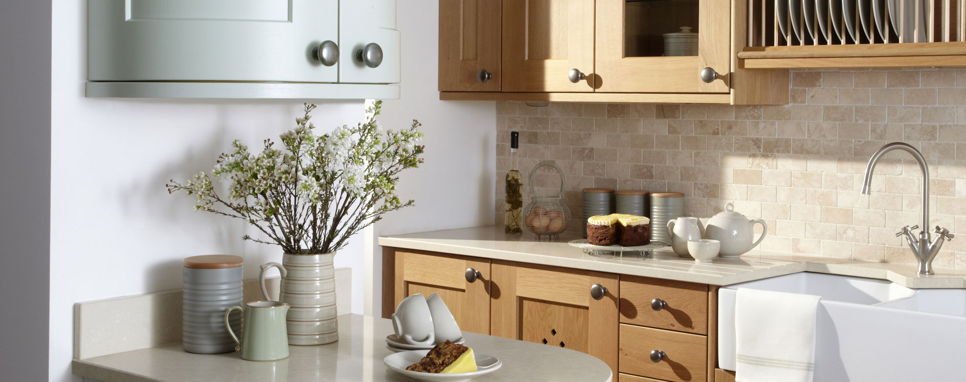 English Made Erin Painted Timber Kitchen 2