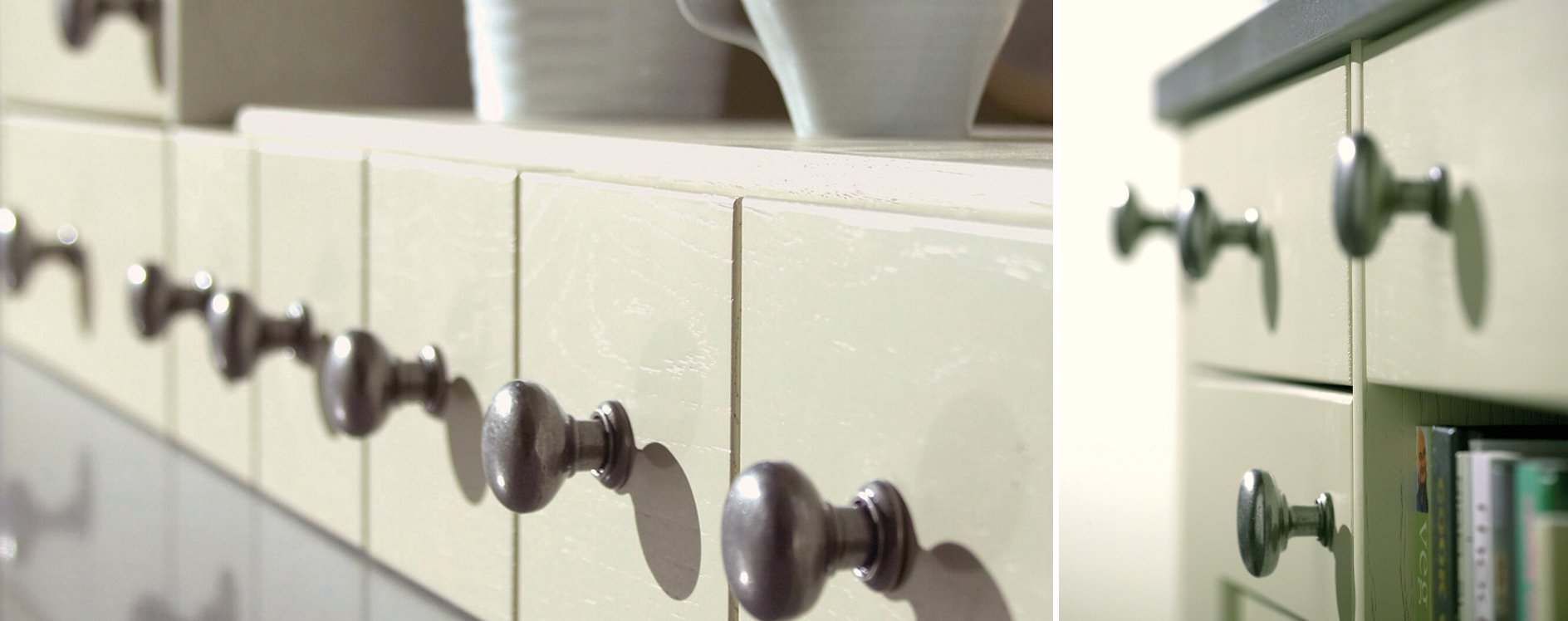 English Made Erin Painted Timber Kitchen 3