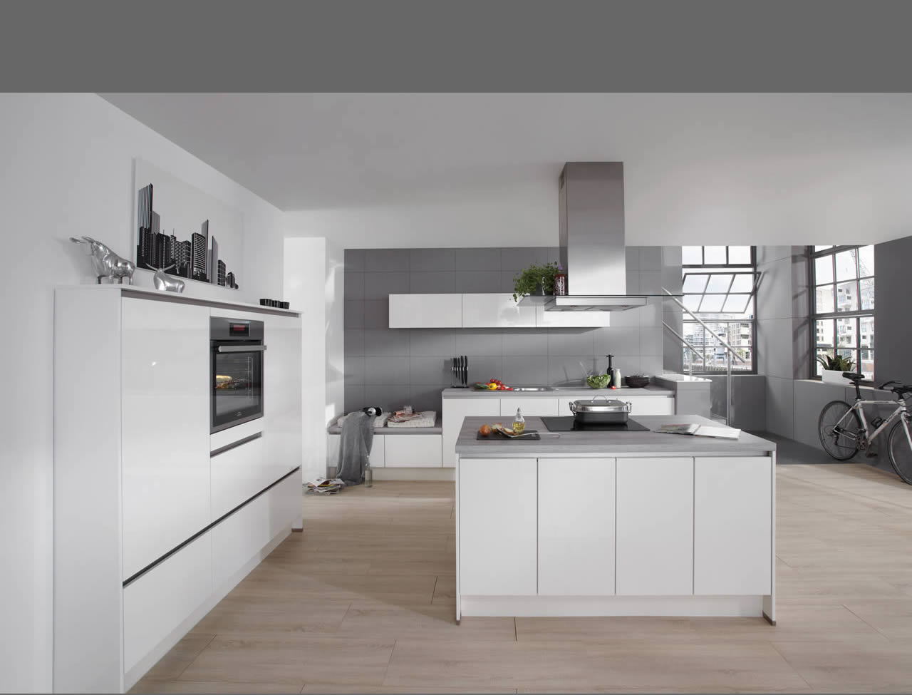i-Home Kitchens – Nobilia Kitchens German Made :: Nobilia Line N ... | {Nobilia küchen sand 58}