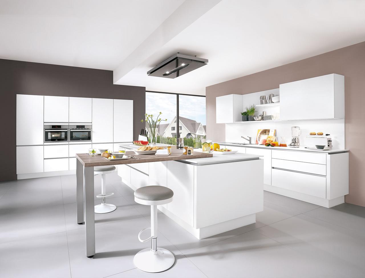 i home kitchens nobilia kitchens german kitchens nobilia line n laser 413 mineral grey. Black Bedroom Furniture Sets. Home Design Ideas