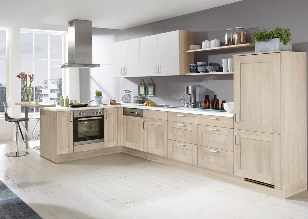 Nobilia German Kitchen 929_cottage Oak