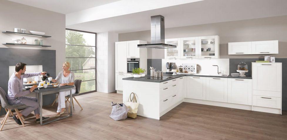 Nobilia Kitchens - Cottage 926 White
