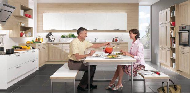Nobilia Kitchens - Cottage 929 Virginia Oak