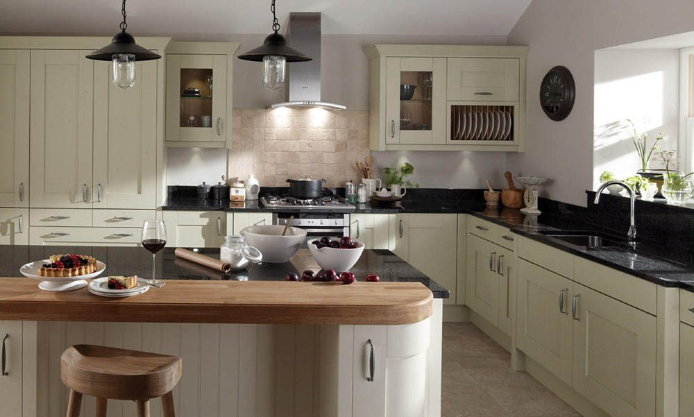 Milbourne Alabaster Shaker Kitchen