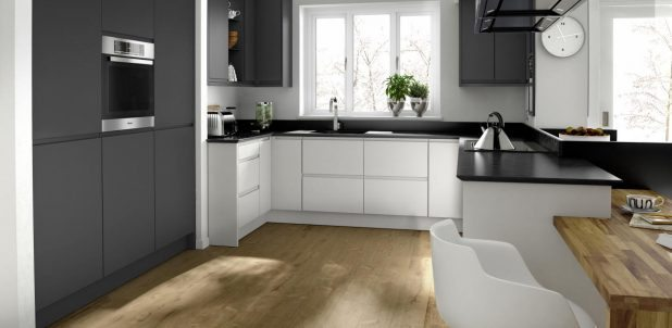 Remo Porcelain Contemporary English made Kitchen