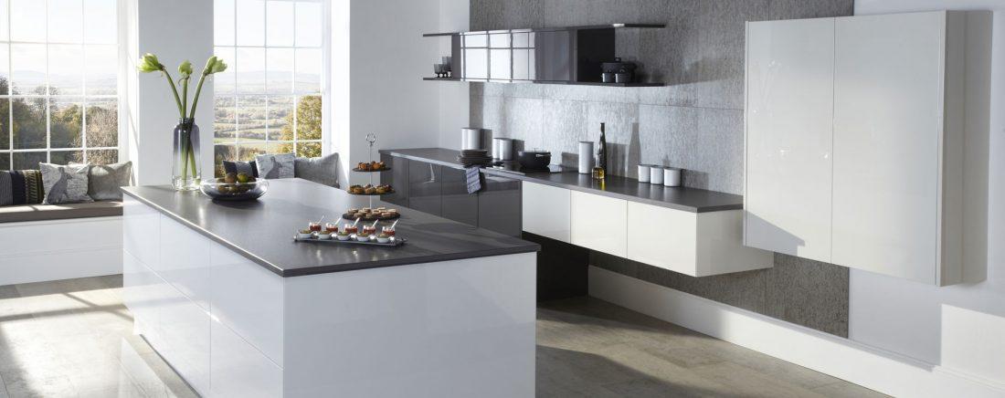 Otto Gloss English Made Kitchen