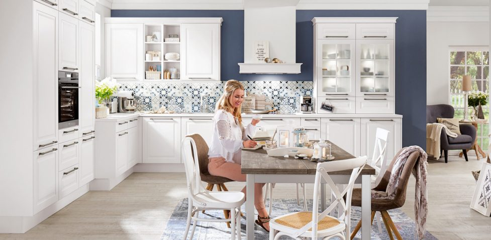 Nobilia Kitchens SYLT 847 Honed Alpine White