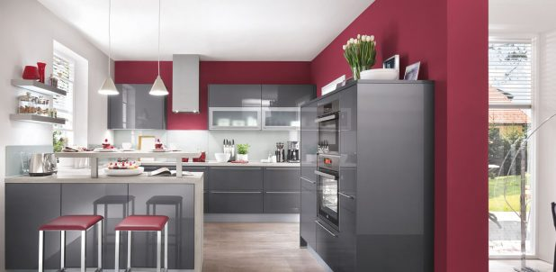 Nobilia Kitchens 670 Anthracite