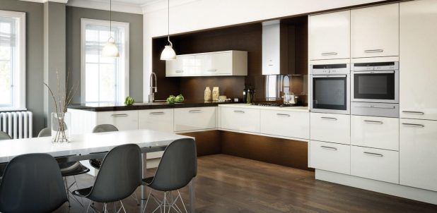 Avant Alabaster English Gloss Kitchen