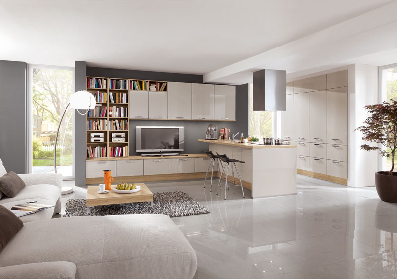 Nobilia Lux 838 Sand High Gloss