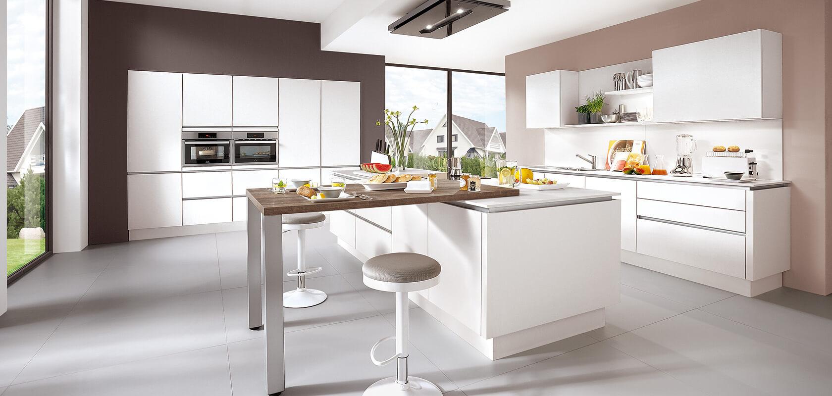 i-Home Kitchens – Nobilia Kitchens & German Kitchens :: The White ...