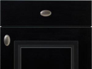 Nobilia SYLT 851 Honed Black Lacquer