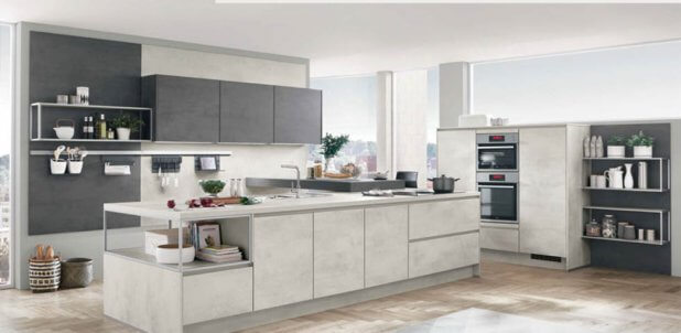 Nobilia kitchens smart cube storage
