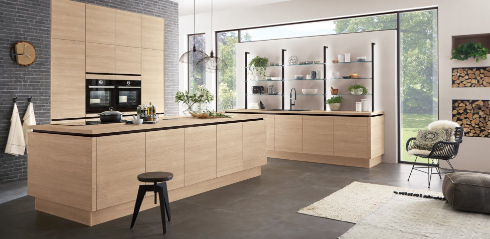 Nobilia Riva Somerset Oak German Kitchen